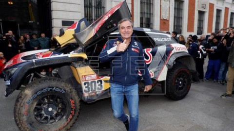 AUTO MOTO RALLY DAKAR 2019 Carlos Sainz defenderá el título del Dakar en 2019 con X-Raid MINI