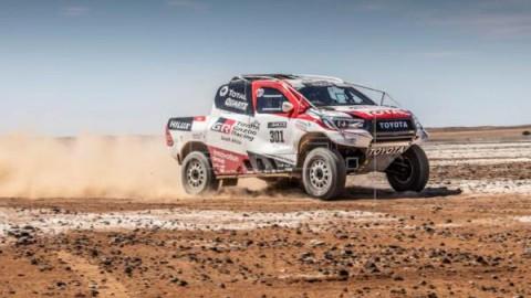 AUTOMOVILISMO DAKAR Alonso, contento con el Toyota: `Acepta una cantidad de maltrato importante`