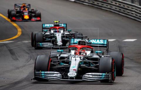 AUTOMOVILISMO FÓRMULA UNO Hamilton gana el Gran Premio de Mónaco desde la `pole`