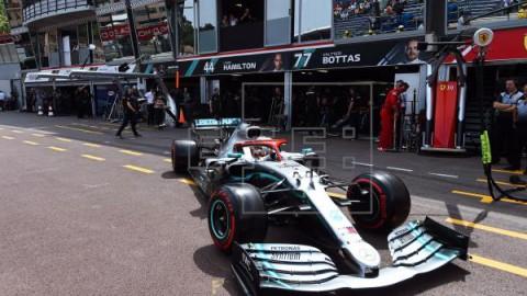 AUTOMOVILISMO FÓRMULA UNO Hamilton saldrá desde la `pole` en Mónaco tras firmar un nuevo récord de pista