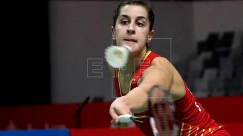 BADMINTON INDONESIA Carolina Marín se retira de la final por una lesión de rodilla