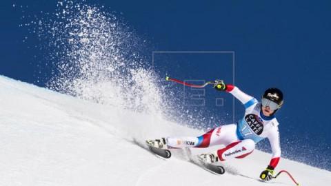 ESQUÍ ALPINO COPA DEL MUNDO Lara Gut repite victoria en el descenso de Crans Montana