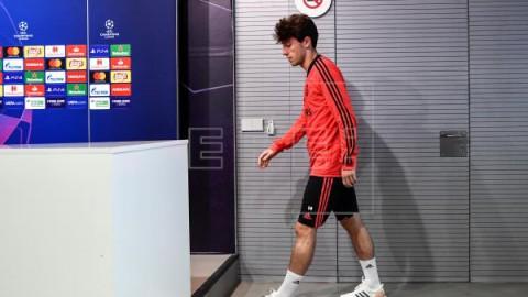 FÚTBOL ALEMANIA Odriozola, ansioso por jugar en el Bayern: `no he venido a perder el tiempo`
