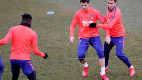 FÚTBOL ATLÉTICO DE MADRID Morata apunta a la titularidad contra el Betis