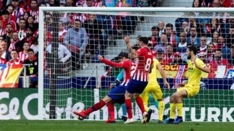 FÚTBOL ATLÉTICO DE MADRID-VILLARREAL 2-0. El triunfo de Morata
