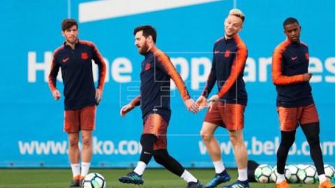 FÚTBOL BARCELONA Semedo, Malcom y Sergi Roberto vuelven a entrenarse con el equipo