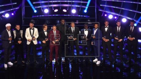 FÚTBOL FIFA THE BEST Cinco jugadores de la liga española y De Gea en el once ideal de la FIFA