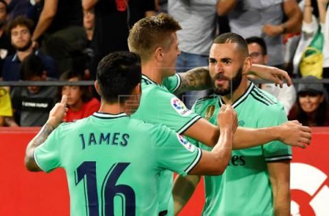 FÚTBOL LALIGA SANTANDER El Madrid resucita ante el Sevilla y el Athletic es nuevo líder