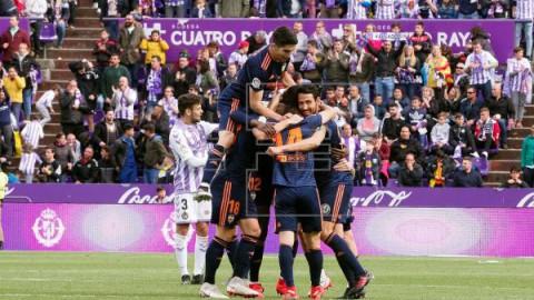 FÚTBOL LALIGA SANTANDER El Valencia es de Champions, el Espanyol a la Liga Europa y desciende Girona