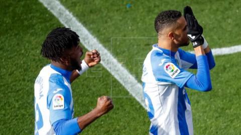 FÚTBOL LEGANÉS-ESPANYOL 2-0: El Leganés se impulsa, el Espanyol se hunde