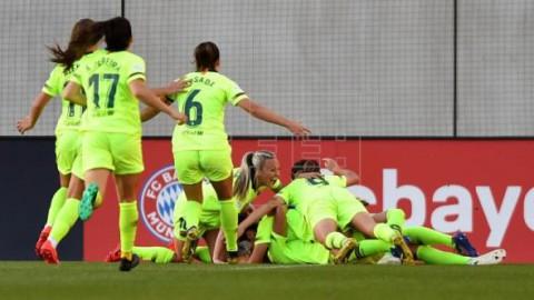 FÚTBOL LIGA CAMPEONES 0-1. El Barcelona conquista Múnich y se acerca a la final