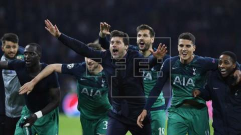 FÚTBOL LIGA CAMPEONES 2-3. Un `hat-trick` de Lucas Moura obra el milagro del Tottenham