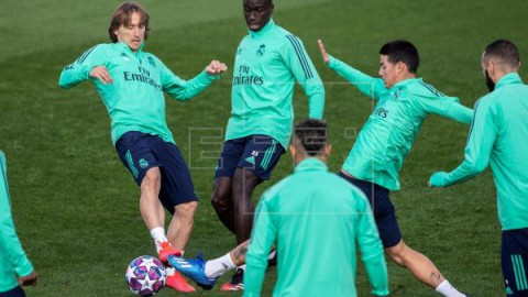 FÚTBOL LIGA CAMPEONES CORONAVIRUS Manchester City-Real Madrid y Juventus-Lyon, aplazados