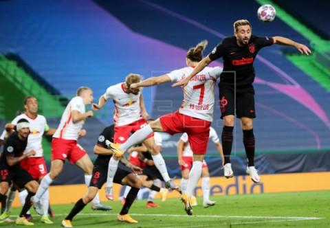 FÚTBOL LIGA CAMPEONES: LEIPZIG-ATLÉTICO MADRID Atlético y Leipzig firman tablas al descanso (0-0)