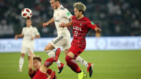 FÚTBOL MUNDIAL CLUBES Bale adelanta al Real Madrid al borde del descanso (0-1)