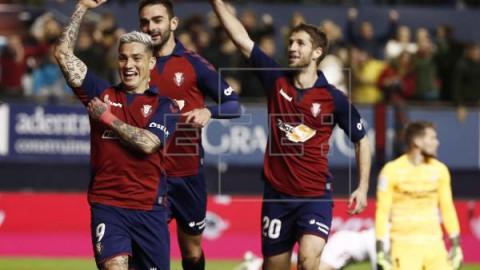 FÚTBOL OSASUNA-SEVILLA 1-1. El Sevilla se deja dos puntos en un partido trepidante