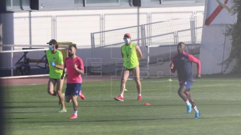 FÚTBOL RAYO-ALBACETE Rayo y Albacete celebran la vuelta del fútbol con un partido atípico
