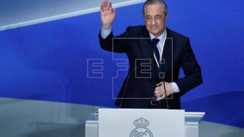 FÚTBOL REAL MADRID ASAMBLEA Florentino recuerda agradecido a Cristiano Ronaldo y Zidane