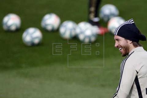 FÚTBOL REAL MADRID Ensayo del Real Madrid en el Di Stéfano pensando en el Eibar