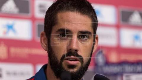 FÚTBOL REAL MADRID Isco: `De momento no echamos de menos a Cristiano`