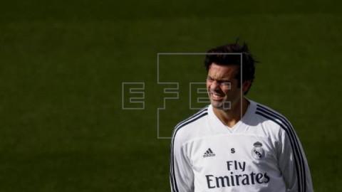 FÚTBOL REAL MADRID Solari prepara su estreno en `Champions` sin recuperar a ningún lesionado