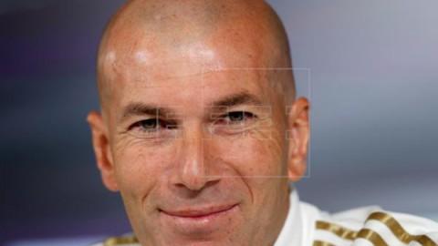 FÚTBOL REAL MADRID Zidane: `Vamos a intentar mejorar en 2020`