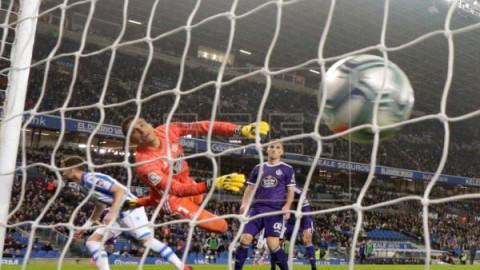 FÚTBOL REAL SOCIEDAD-VALLADOLID  1-0. La Real sufre para ganar al Valladolid y piensa ya en la semifinal de Copa