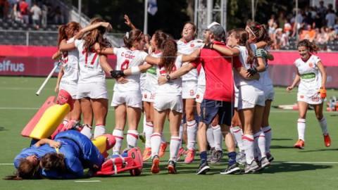 HOCKEY EUROPEO España vuelve al podio 12 años después al superar a Inglaterra en los shoot-outs