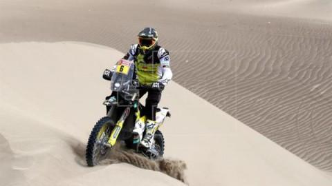 MOTO DAKAR Price y Quintanilla se jugarán el Dakar en la última etapa