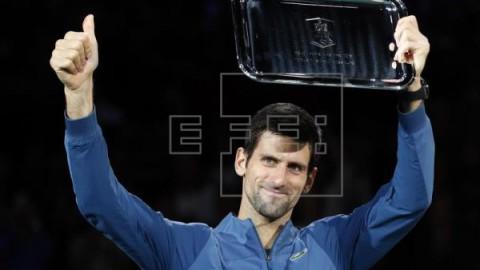 TENIS CLASIFICACIÓN ATP Djokovic culmina su regreso al número uno